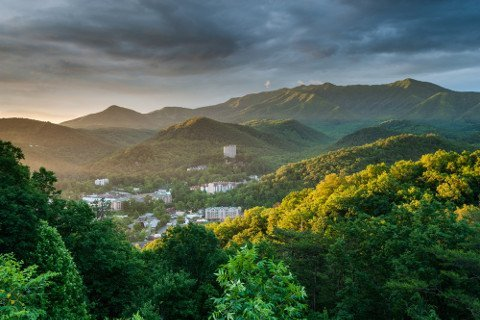 Gatlinburg Tennessee in the Mountains