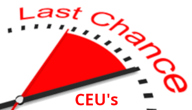 Last Chance for CEU's