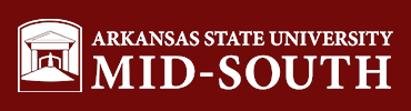 Arkansas State University Mid-South logo